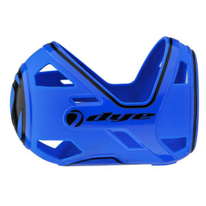Photos of Dye Flex Tank Cover - Blue. Photo taken by drpaintball.com