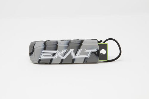 Photos of Exalt Paintball Barrel Cover - Charcoal Swirl. Photo taken by drpaintball.com