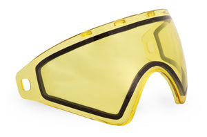 Photos of Virtue VIO Thermal Lens - Replacement Paintball Goggle Lens - Hi-Contrast Yellow. Photo taken by drpaintball.com