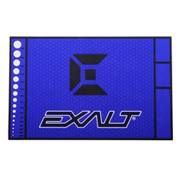 Photos of Exalt HD Rubber Tech Mat - Arctic Blue. Photo taken by drpaintball.com