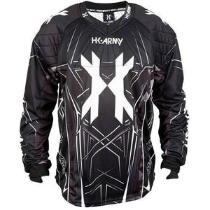 HK Army HSTL Line Paintball Jersey - Black - Small