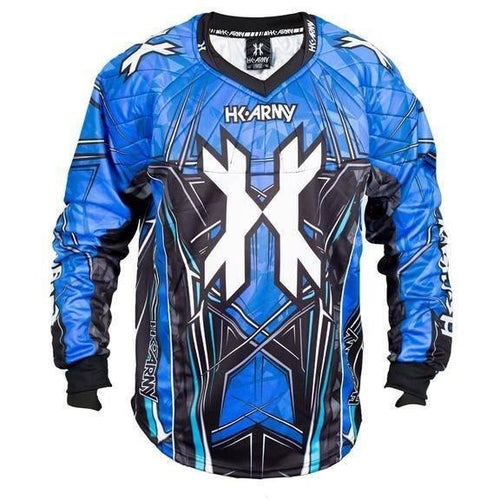 HK Army HSTL Line Paintball Jersey - Blue - Large