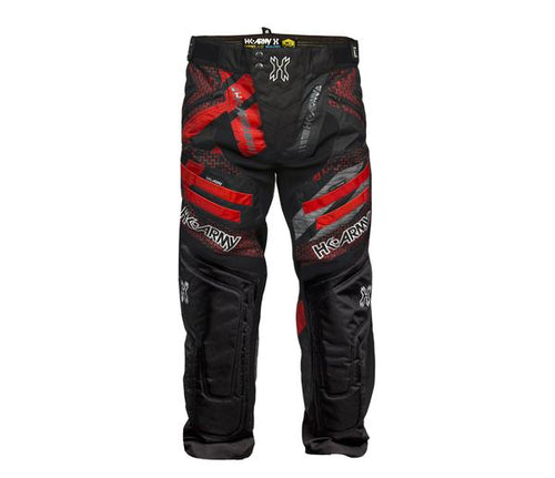 Photos of HK Army Hardline Paintball Pants - Fire - 2XL/3XL. Photo taken by drpaintball.com
