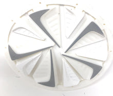Photos of Exalt Dye Rotor Fastfeed - White. Photo taken by drpaintball.com