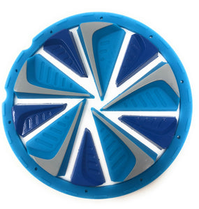 Photos of Exalt Dye Rotor Fastfeed - Blue. Photo taken by drpaintball.com