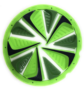 Photos of Exalt Dye Rotor Fastfeed - Lime. Photo taken by drpaintball.com