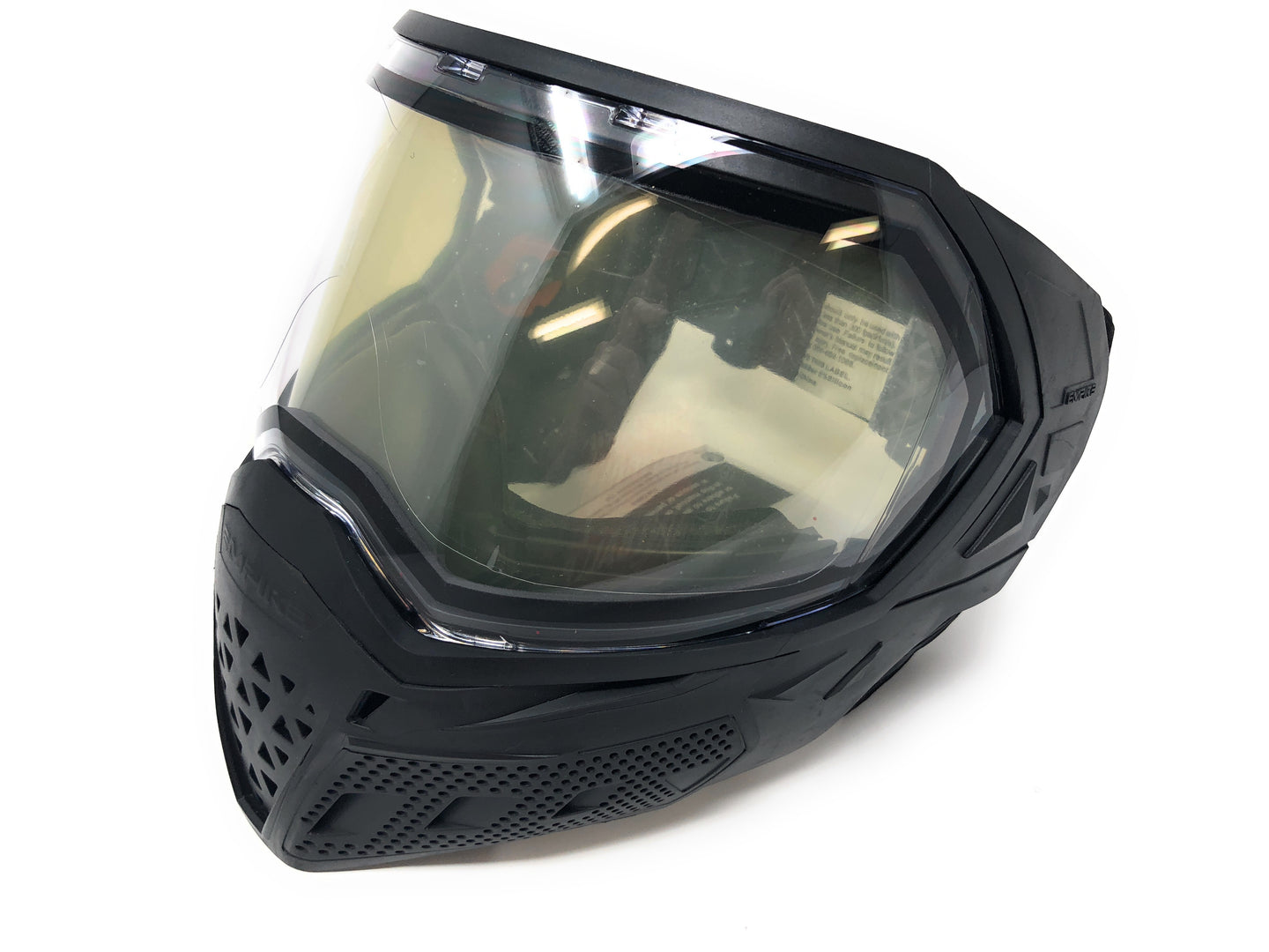 Photos of Empire EVS Paintball Goggles - Black. Photo taken by drpaintball.com