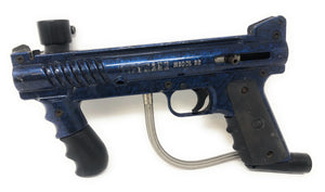 Photos of Used Tippmann 98 Custom - Blue. Photo taken by drpaintball.com