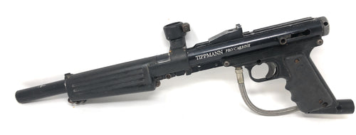 Photos of Used Tippmann Pro Carbine. Photo taken by drpaintball.com