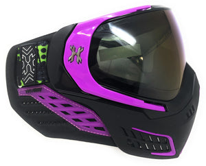 Photos of HK Army KLR Paintball Goggle System - Argon Black/Purple. Photo taken by drpaintball.com
