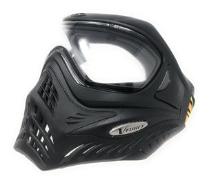 Photos of VForce Grill Paintball Goggles - Black. Photo taken by drpaintball.com