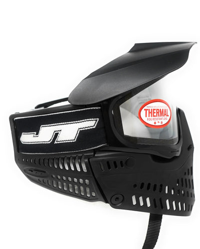 Photos of JT Spectra Proflex Paintball Goggle - Black. Photo taken by drpaintball.com