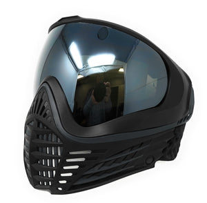 Photos of Virtue VIO Contour Thermal Paintball Goggle - Black/Silver. Photo taken by drpaintball.com