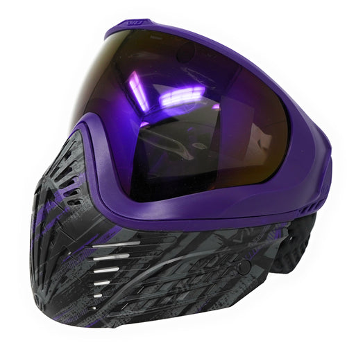 Photos of Virtue VIO Extend Thermal Paintball Goggle - Graphic Purple. Photo taken by drpaintball.com