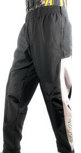 Photos of Empire Grind Pants - Black/Grey - Small. Photo taken by drpaintball.com