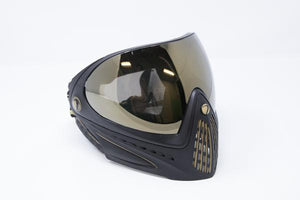Photos of Dye I4 Paintball Goggle - Black/Gold. Photo taken by drpaintball.com