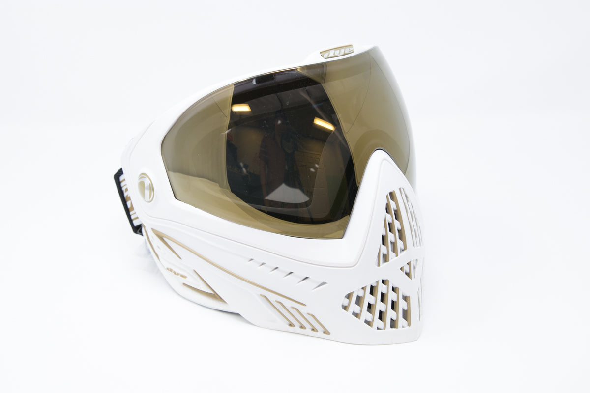 Dye i5 Paintball Goggle - White/Gold