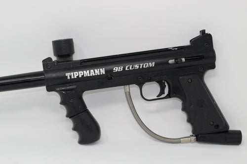 Photos of Used Tippmann 98 Custom. Photo taken by drpaintball.com