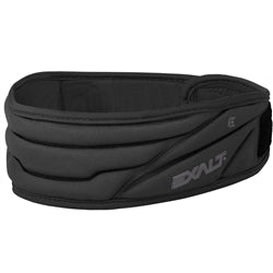 Photos of Exalt Paintball Neck Protector - Black. Photo taken by drpaintball.com