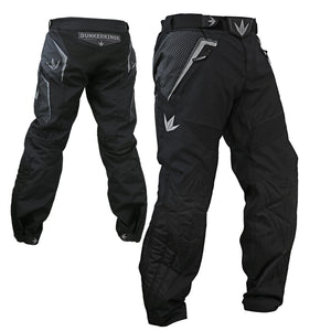 Photos of Bunkerkings Supreme Pants - Black - Small. Photo taken by drpaintball.com