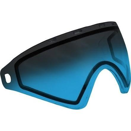 Virtue VIO Thermal Lens - Replacement Paintball Goggle Lens - Blue Fade