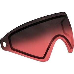 Virtue VIO Thermal Lens - Replacement Paintball Goggle Lens - Red Fade