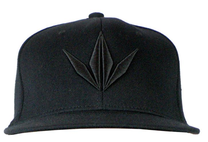 Photos of Bunker Kings Hat - Snapback Cap - Crown Black. Photo taken by drpaintball.com