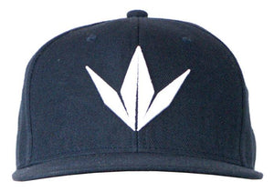 Photos of Bunker Kings Hat - Snapback Cap - Crown Navy. Photo taken by drpaintball.com