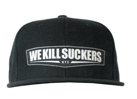 Photos of Bunker Kings Hat - Snapback Cap - WKS Black/Grey. Photo taken by drpaintball.com