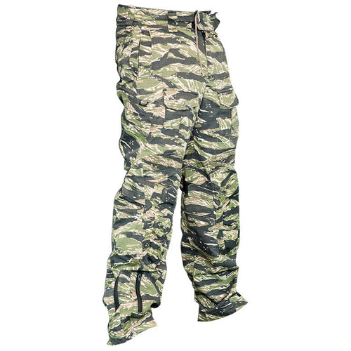 Photos of Valken Tango Paintball Pants - Tiger Stripe - Large. Photo taken by drpaintball.com