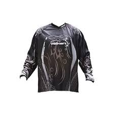 Photos of Valken Fate Paintball Jersey - Black - 2XL. Photo taken by drpaintball.com