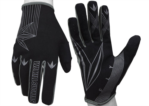 Photos of Bunkerkings Fly Gloves - Small/Medium. Photo taken by drpaintball.com