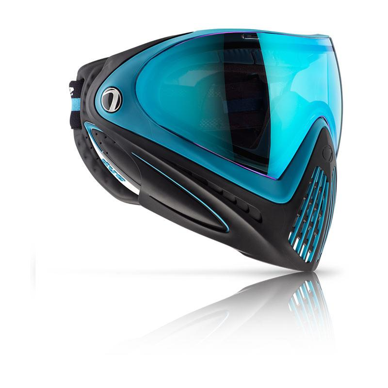 Photos of Dye I4 Paintball Goggle - Blue/Black. Photo taken by drpaintball.com