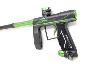 Photos of Empire Axe Pro Paintball Marker - Grey/Green. Photo taken by drpaintball.com