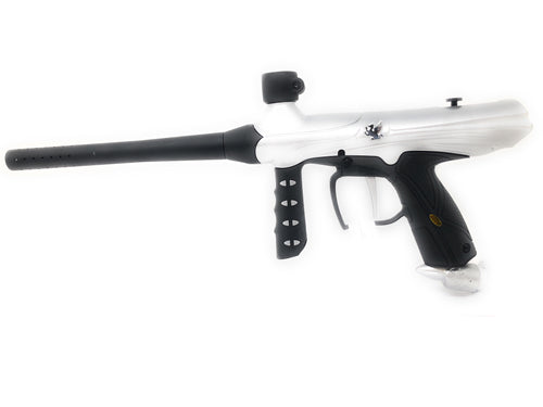 Photos of Tippmann Gryphon Paintball Marker - Silver. Photo taken by drpaintball.com