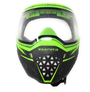 Photos of Empire EVS Paintball Goggles - Black/Lime. Photo taken by drpaintball.com