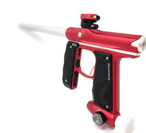 Photos of Empire Mini GS Paintball Marker - Red/Silver. Photo taken by drpaintball.com
