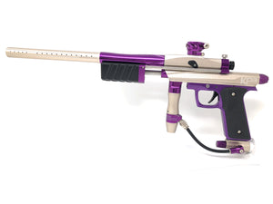 Photos of Azodin KP3 Pump Paintball Marker - Tan/Purple. Photo taken by drpaintball.com
