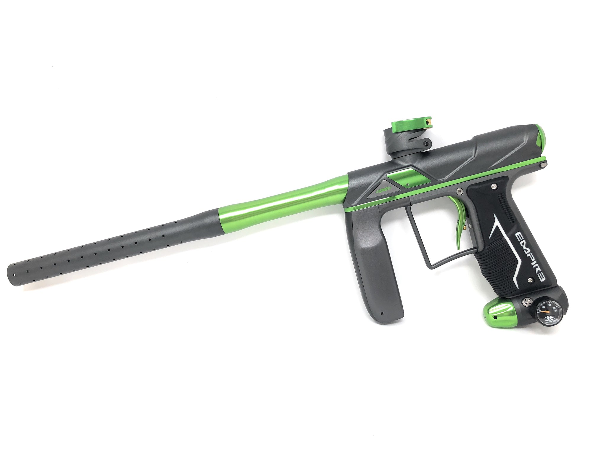 Empire Axe Pro Paintball Gun Photo Grey Green