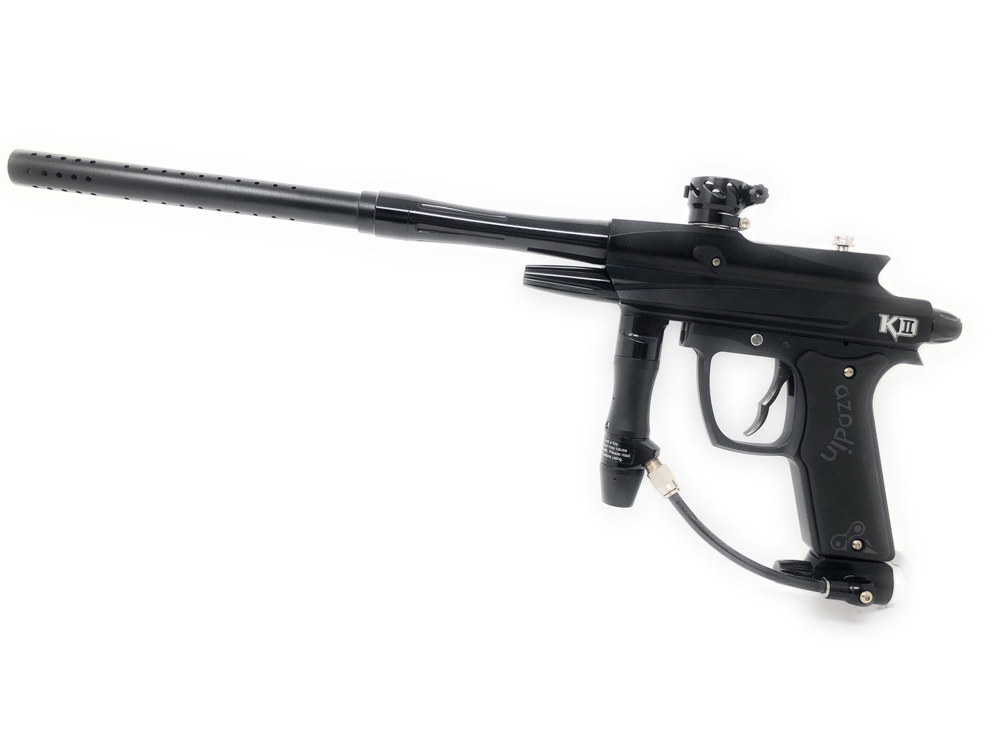Photos of Azodin KD-II Paintball Marker - Black. Photo taken by drpaintball.com