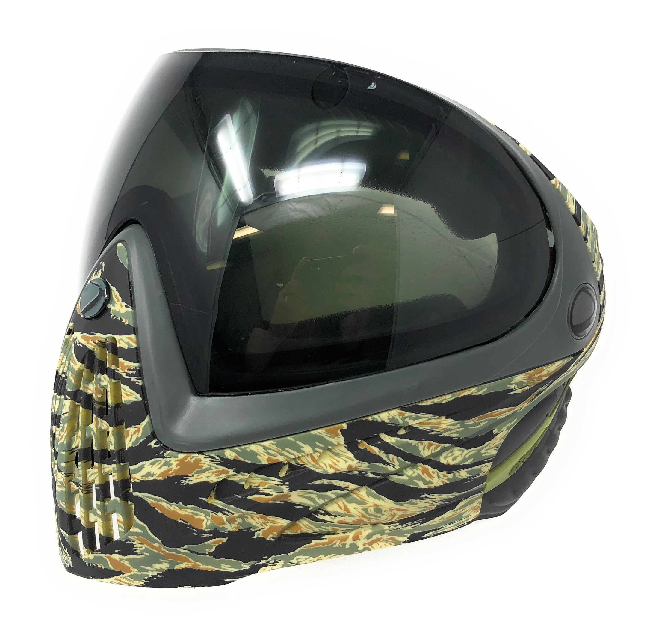Photos of Dye I4 Paintball Goggle - Tiger (Camo). Photo taken by drpaintball.com