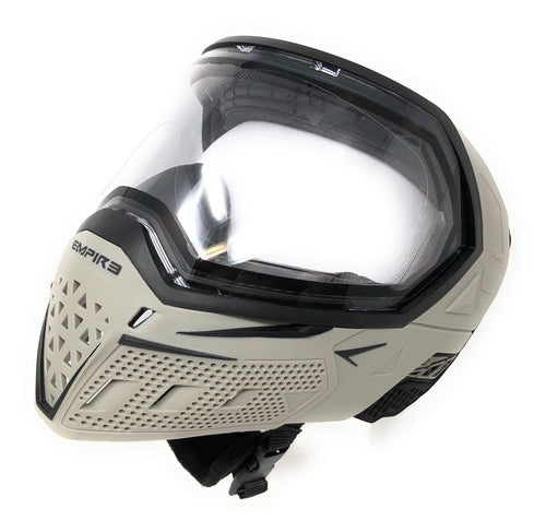 Photos of Empire EVS Paintball Goggles - Grey/Black. Photo taken by drpaintball.com