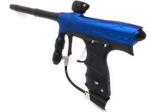 Photos of Dye Rize Paintball Marker - Blue Dust. Photo taken by drpaintball.com
