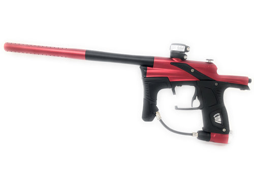 Photos of Planet Eclipse Etek 5 Paintball Marker - Red/Black. Photo taken by drpaintball.com