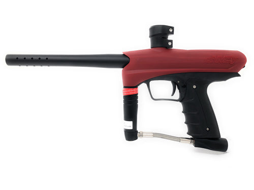 Photos of Gog eNMEY .68 Cal Paintball Marker - Red. Photo taken by drpaintball.com