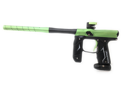 Photos of Empire Paintball Axe 2.0 - Green/Black. Photo taken by drpaintball.com