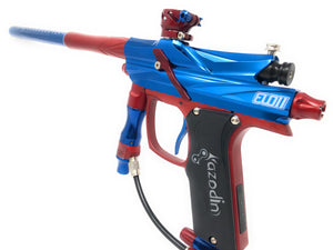Photos of Azodin Blitz Evo II - Blue/Red. Photo taken by drpaintball.com
