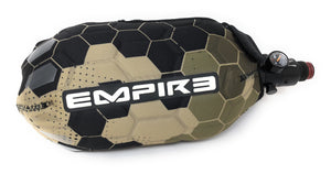 Photos of Empire Paintball Tank Cover - Tan Hex. Photo taken by drpaintball.com