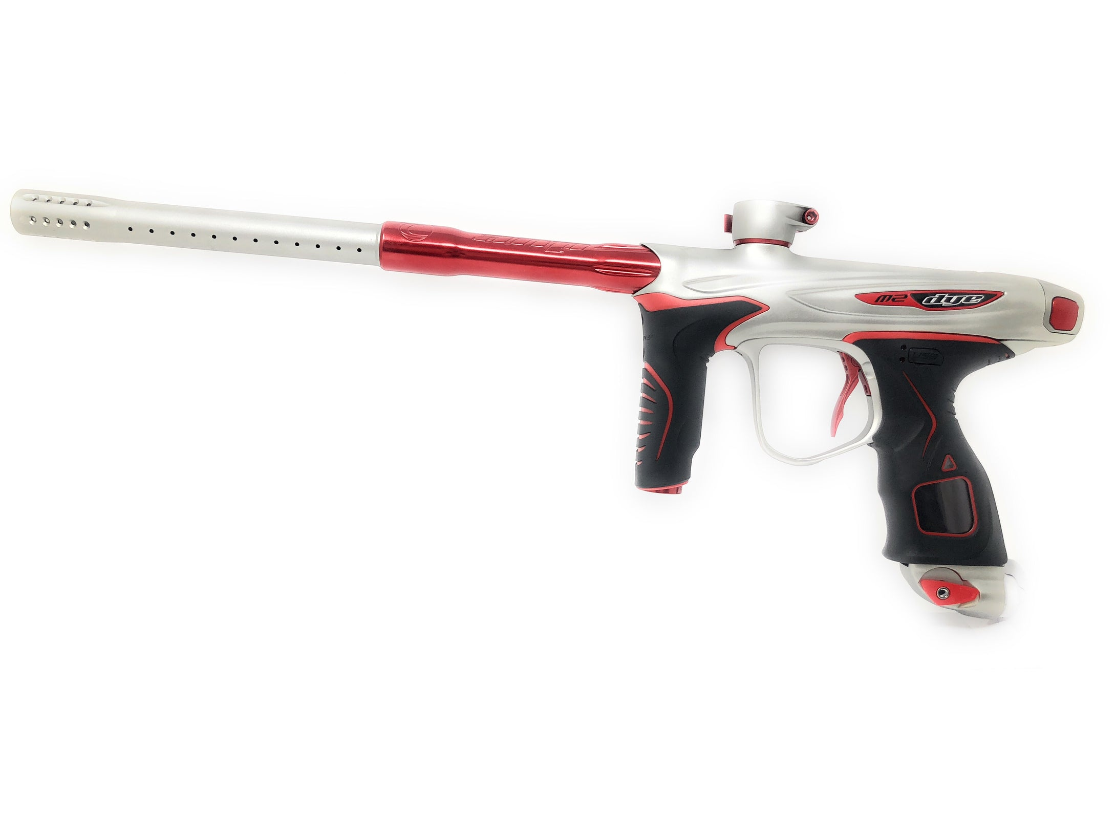 Photos of Dye M2 Paintball Marker - Crimson Winter. Photo taken by drpaintball.com