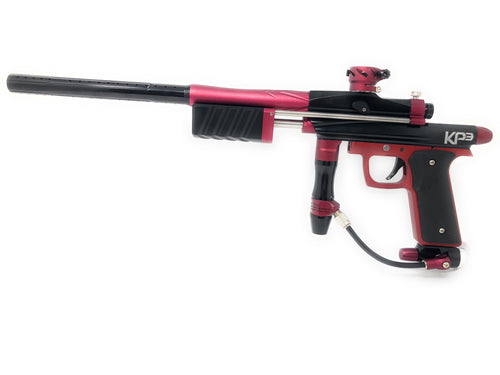 Photos of Azodin KP3 Pump Paintball Marker - Red/Black. Photo taken by drpaintball.com